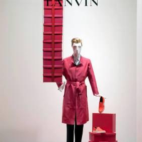 Lanvin SS14 window display