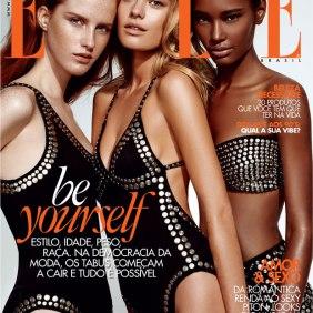 Capa da revista ELLE Brasil - fevereiro 2014