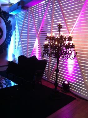 Detalhe do lounge
