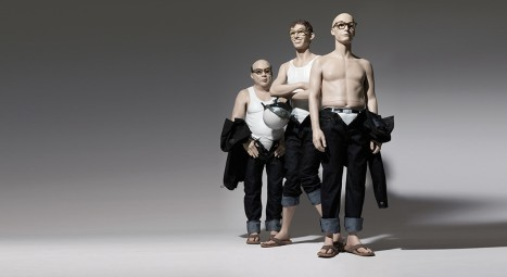 "Coleção de manequins ""Ugly"" - Hans Bootd mannequins"