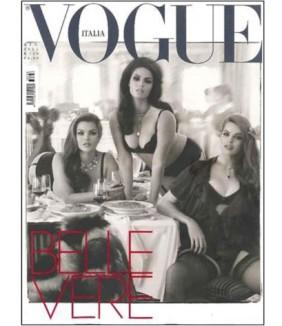 Capa da Vogue Itália - junho 2011