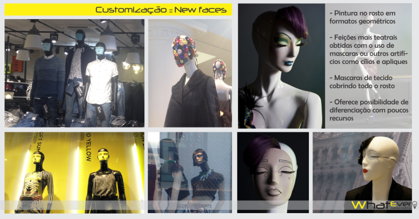 manequins customizados