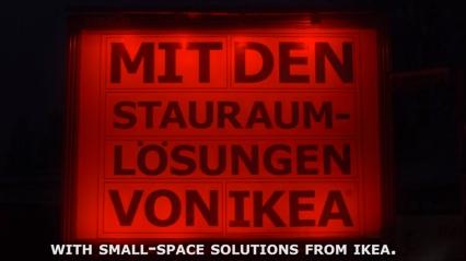 """""""com as soluções para espaços pequenos da IKEA"""""""