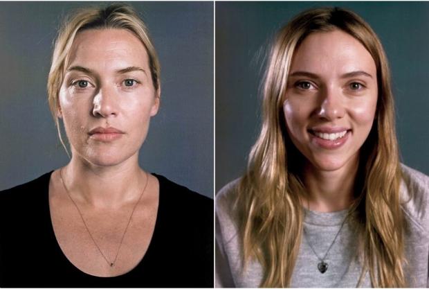 kate Winslet e Scarlett Johansson para Vanity Fair