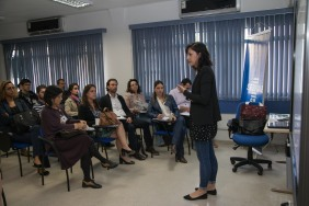 Ariela Raniely e o público presente. Foto: Cris Castello Branco/Sebrae-SP.