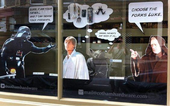 starwar-window-display-fathers-day