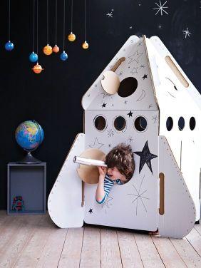Busque inspiração no universo lúdico da criança. Foto: Pinterest.
